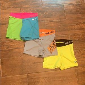 Lot of 3 Nike workout shorts